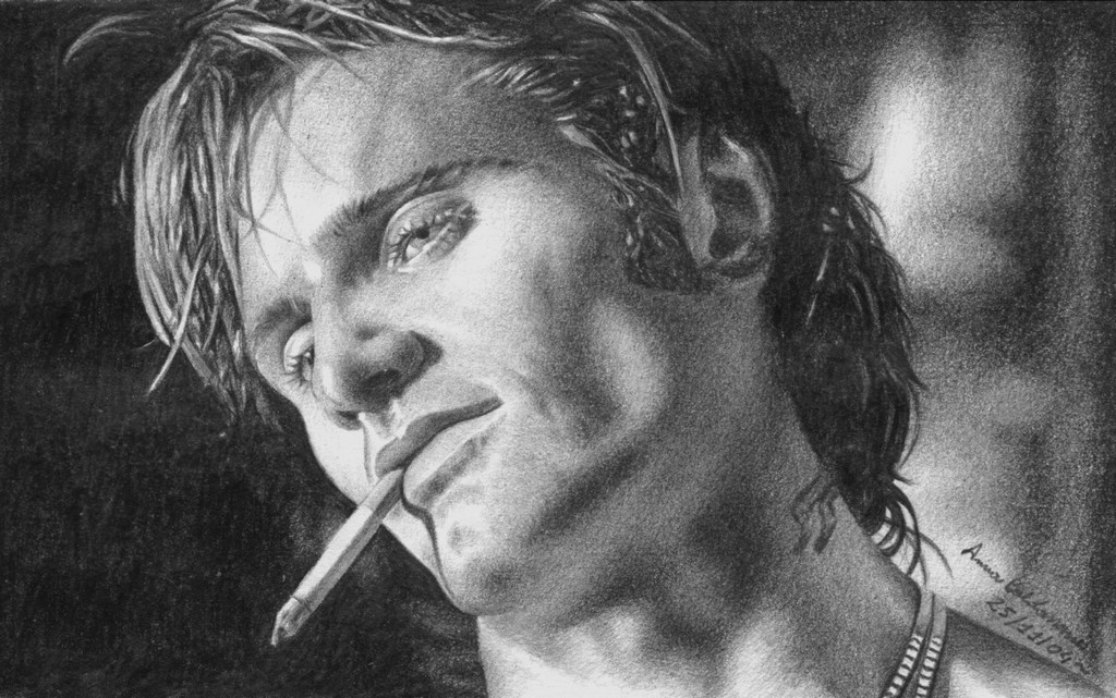 Viggo as Frankie Matita su carta 33x24cm.